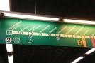 Průsak vody zastavil provoz metra na části linky A.