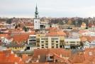 Časová schránka bude uložena v městské věži v Třebíči (na snímku).
