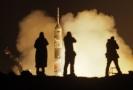 Start rakety Sojuz MS-08 (ilustrační foto).