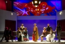 Herci Klicperova divadla při zkoušce hry Lva Nikolajeviče Tolstého Anna Karenina.