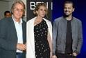 Alain Delon, Julia Roberts a Leonardo DiCaprio.
