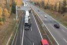 Nehoda se stala na šestém kilometru ve směru na Plzeň.