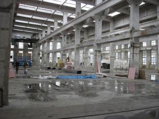 Interiér v roce 2007.