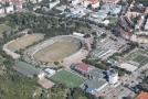 Stadion Lužánky v Brně.
