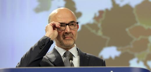 Komisař pro hospodářské a měnové záležitosti, daně a cla Pierre Moscovici.