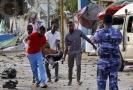Teroristický útok v Somálsku.