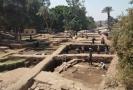 Archeologické vykopávky poblíž Káhiry.