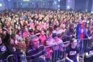 Celkem 2 135 účastníků festivalu zábavy Life! překonalo na brněnském výstavišti rekord v počtu tančících v jednu chvíli na jednom místě.