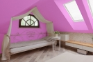 Interiér hotelu bude laděn do bílé a růžové barvy (ilustrační foto).