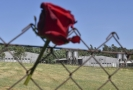 Bývalý koncentrační tábor v Letech.