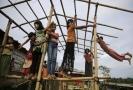 Malí Rohingové v uprchlickém táboře v Bangladéši.