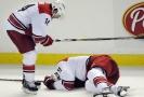 Až stovka hráčů se zraněním hlavy žalovala NHL.
