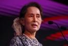 Barmská vůdkyně Su Ťij.