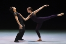 Členové baletního souboru Národního divadla moravskoslezského zkoušeli 12. listopadu 2018 v Ostravě představení Křídla z vosku v choreografii Jiřího Kiliána, které je součástí komponovaného večera s názvem Vzlety a pády.