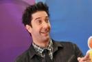Herec David Schwimmer známý také jako Ross ze seriálu Přátelé.