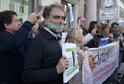 Italští novináři demonstrovali po celé zemi za svobodu slova.