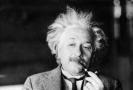 Vědec Albert Einstein.