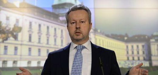 Ministr životního prostředí Richard Brabec (ANO).