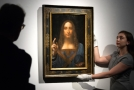 Da Vinciho obraz Spasitel světa.
