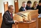 Senátor Jaroslav Kubera (ODS) hovořil 14. listopadu 2018 v Praze na ustavující schůzi horní komory Parlamentu v jejím 12. funkčním období.