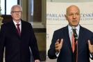 Jiří Drahoš a Pavel Fischer jsou noví vedoucí senátních výborů.