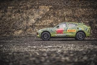 První SUV značky Aston Martin se bude jmenovat DBX.