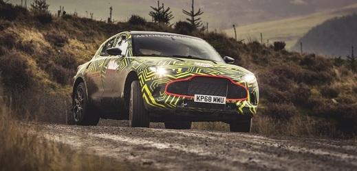 SUV značky Aston Martin.