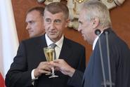 Zeman v TV Barrandov: Kdyby vláda padla, pověřím Babiše znovu
