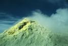 Vrchol na Kurilském ostrově Iturup.