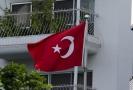 Turecká vlajka.
