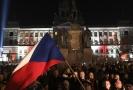 Demonstrace proti premiérovi české vlády z 15. 11. 2018.