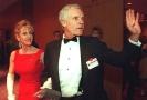 Ted Turner se svou manželkou Jane Fondovou na snímku z roku 1997.