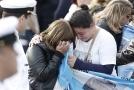 Příbuzní členů zmizelé argentinské posádky.