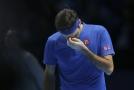 ROger Federer prohrál ve dvou setech s Alexanderem Zverevem.