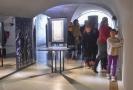 Návštěvníci Muzea nové generace ve Žďáru nad Sázavou mohli absolvovat prohlídku se zavázanýma očima za doprovodu průvodců.
