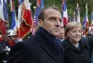 Emmanuel Macron a Angela Merkelová budou mít v Berlíně společný program.