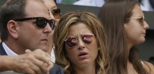 Manželka Rogera Federera Mirka (ilustrační foto).