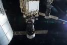 Zásobovací loď Progress u ISS.