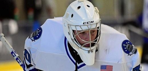 Gólman Josef Kořenář udržel v AHL čisté konto.