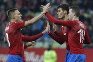 ŽIVĚ: Česko - Slovensko 1:0. Vedení po Schickově parádě