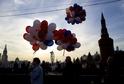 Oslavy prvního výročí ruské anexe Krymu.