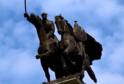 Pomník polského jezdectva.