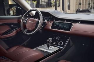 Range Rover Evoque - interiér.