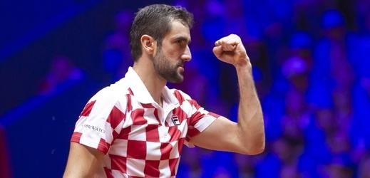 Marin Čilič získal pro Chorvaty ve finále druhý bod.