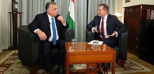 Viktor Orbán v exkluzivním přenosu Duelu SPECIÁL s Jaromírem Soukupem.