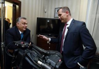 Viktor Orbán v diskuzi s Jaromírem Soukupem.
