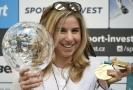 Ester Ledecká je mezi nejlepšími čtyřmi sportovci za rok 2018.