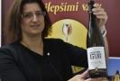 Vítězné víno Rulandské bílé ze Zámeckého vinařství Bzenec.