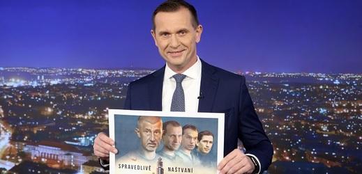Jaromír Soukup se ve svých Kauzách bude věnovat Andreji Babišovi, Tomiu Okamurovi, Viktoru Orbánovi a Sebastianu Kurzovi.