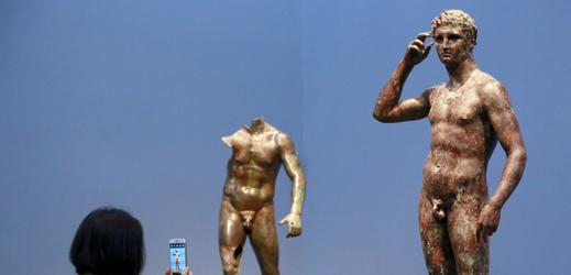 Slavná socha Vítězné mládí.